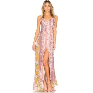 We Are Kindred Florence Floral Maxi Slip Dress 8